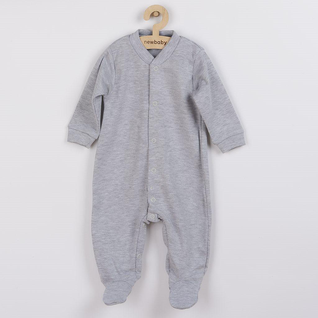 Kojenecký overal New Baby Classic II šedý