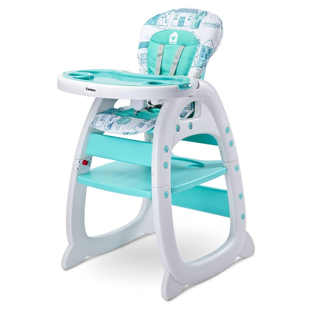 Jídelní židlička CARETERO HOMEE mint