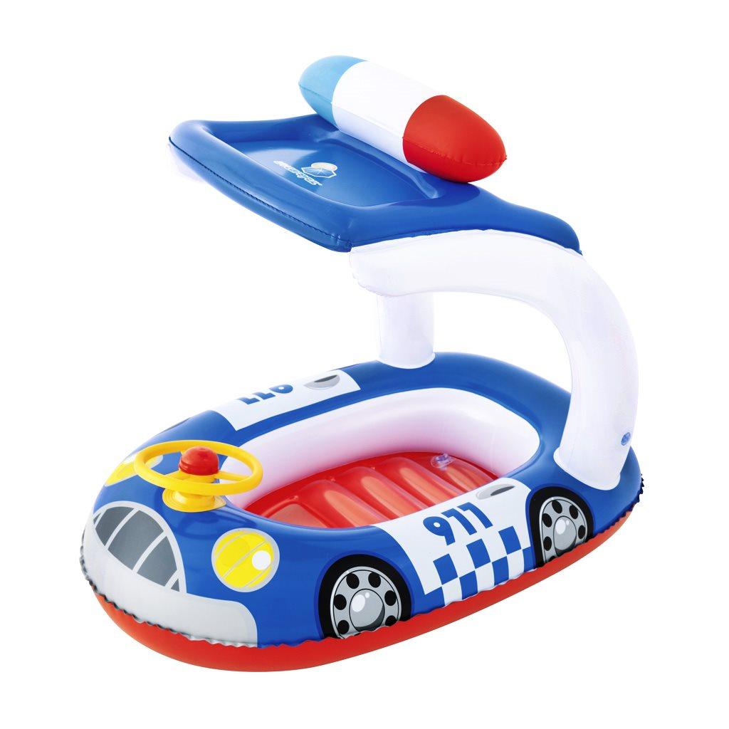 Dětský nafukovací člun se stříškou Bestway police