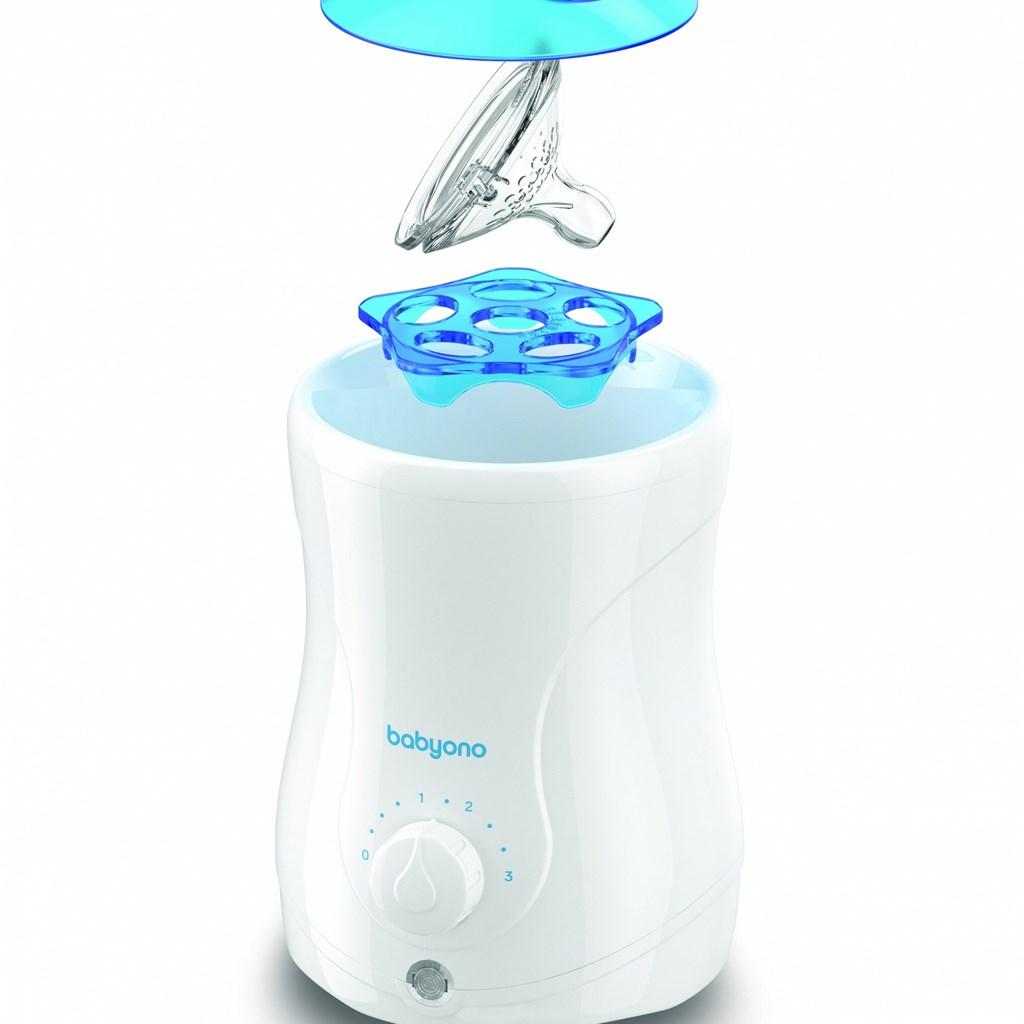Elektrický ohřívač jídla Natural Nursing Baby Ono s funkcí sterilizace 2v1