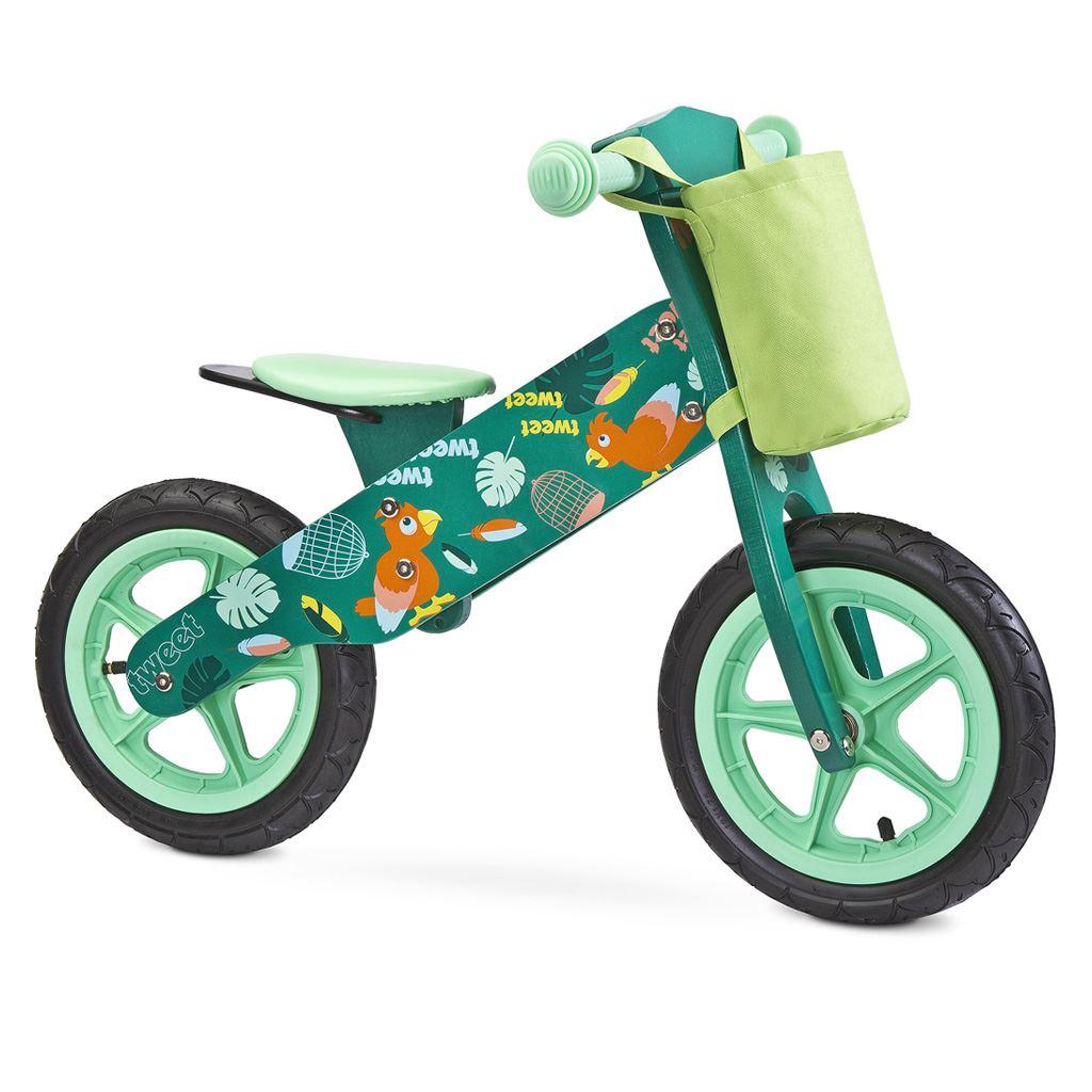 Dětské odrážedlo kolo Toyz  Zap 2018 green