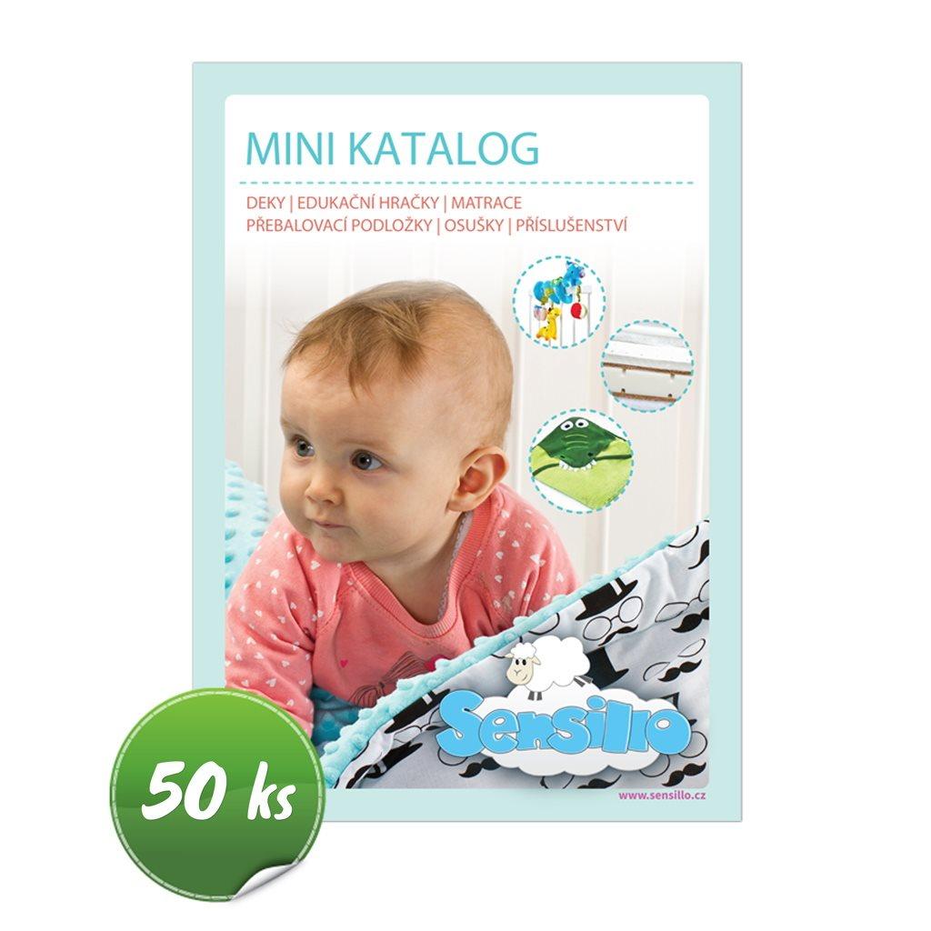 Propagační materiály Sensillo balení-50 ks