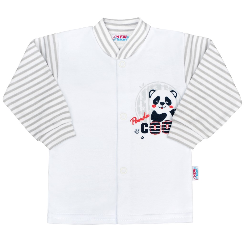 Kojenecký kabátek New Baby Panda, vel. 56 (0-3m)