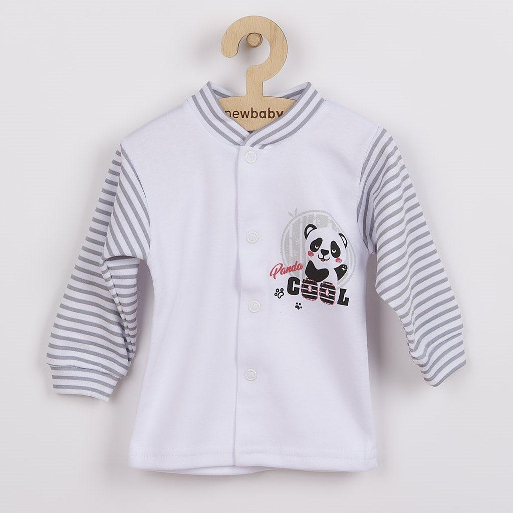 Kojenecký kabátek New Baby Panda vel. 62 (3-6m)