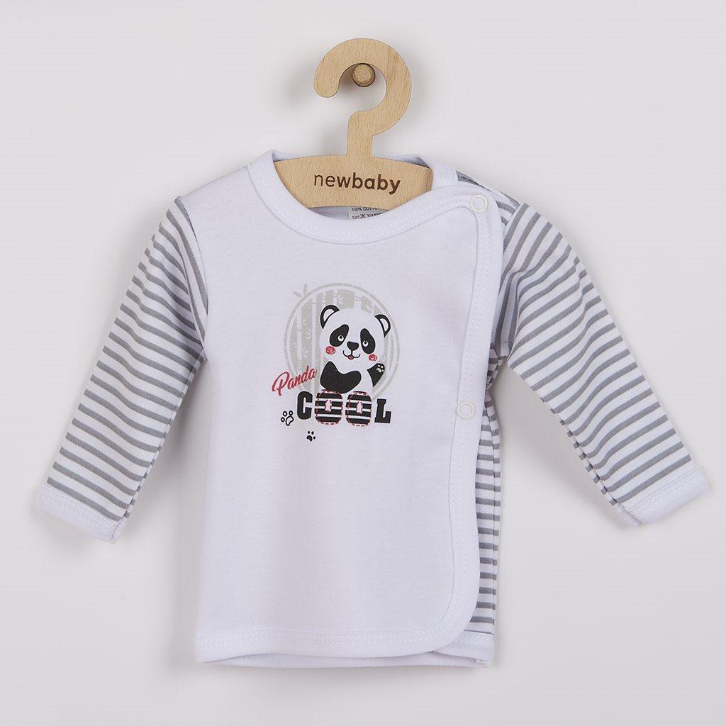 Kojenecká košilka New Baby Panda vel. 62 (3-6m)