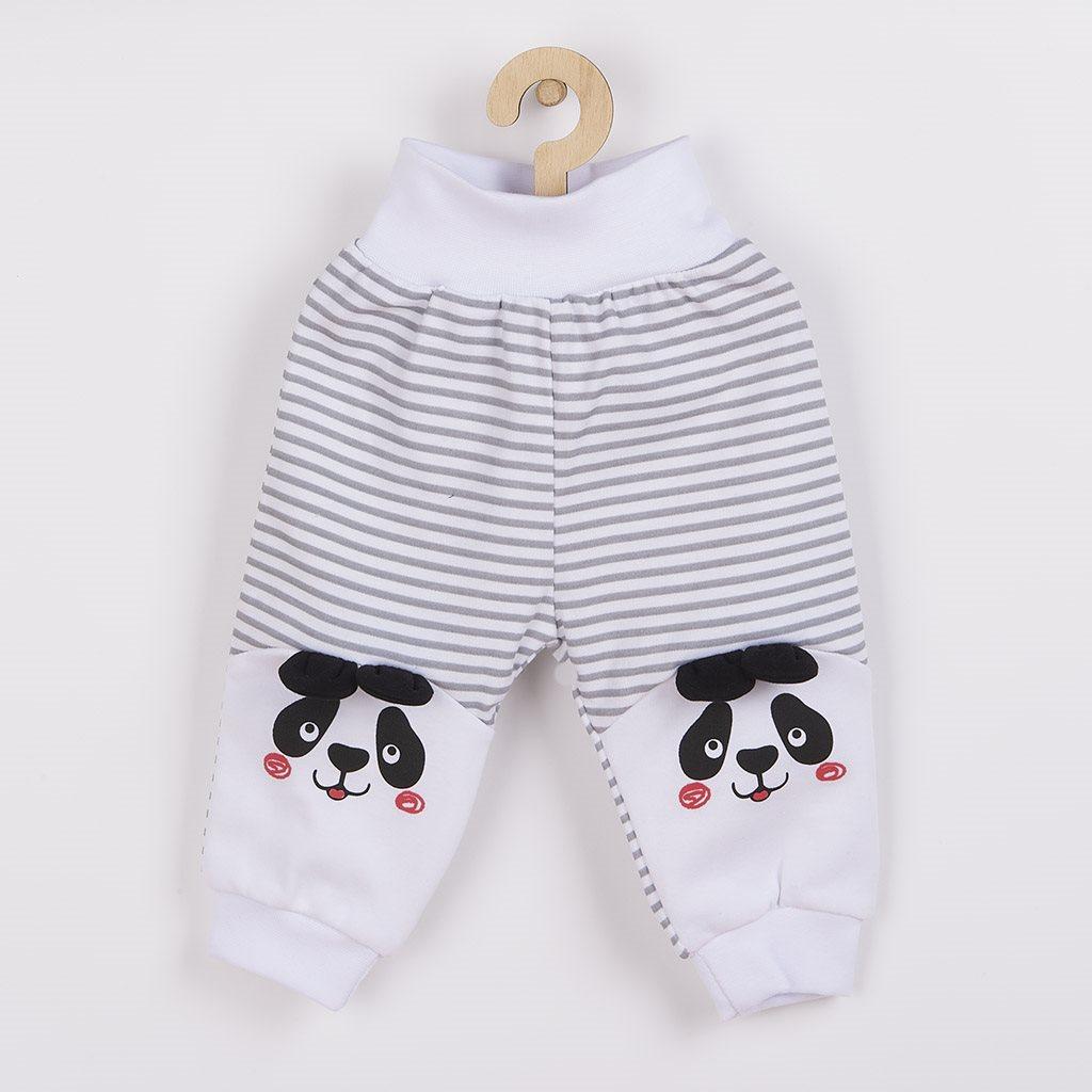 Kojenecké tepláčky New Baby Panda vel. 62 (3-6m)
