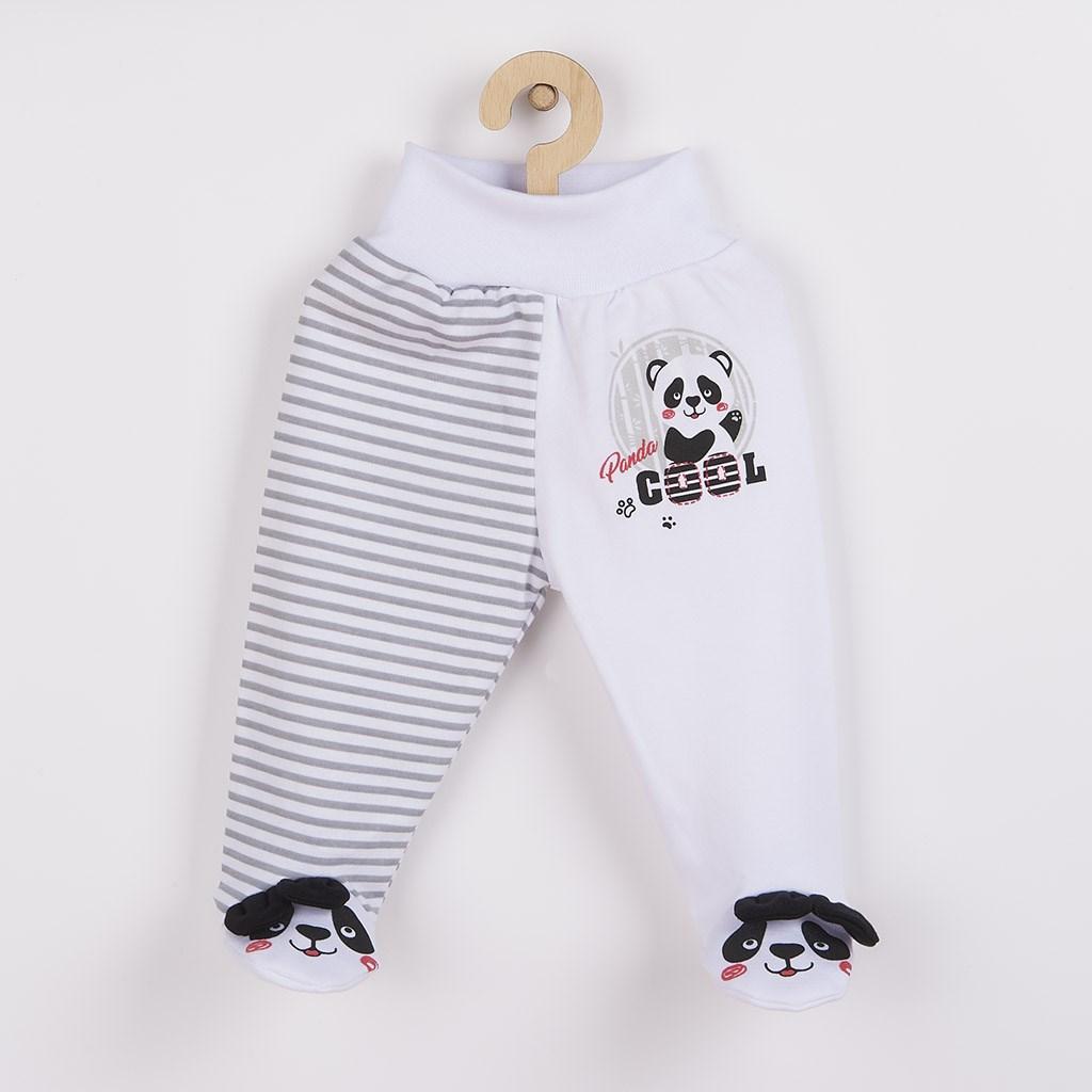 Kojenecké polodupačky New Baby Panda vel. 68 (4-6m)