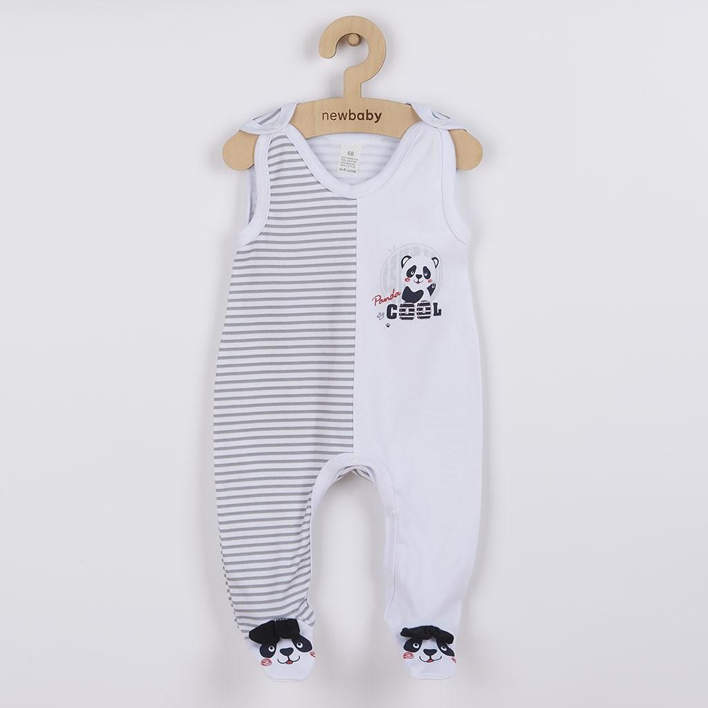 Kojenecké dupačky New Baby Panda vel. 68 (4-6m)