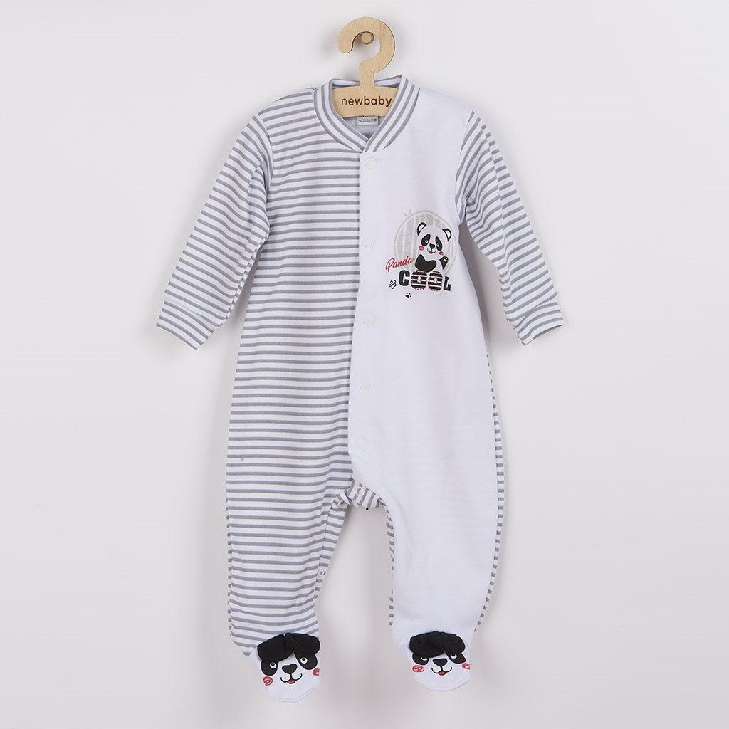 Kojenecký overal New Baby Panda vel. 74 (6-9m)