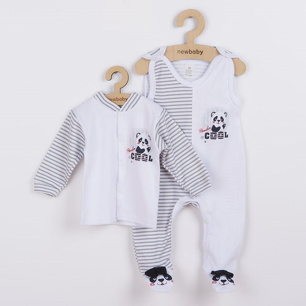 Kojenecká souprava New Baby Panda vel. 56 (0-3m)