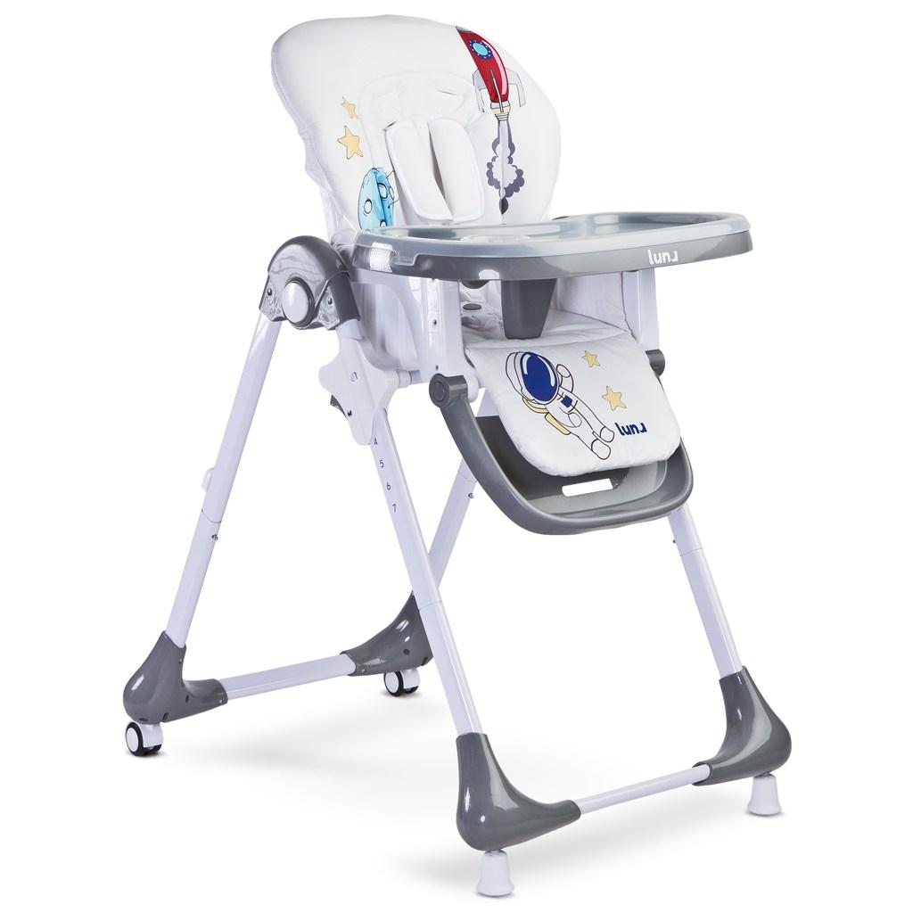 Jídelní židlička CARETERO Luna navy