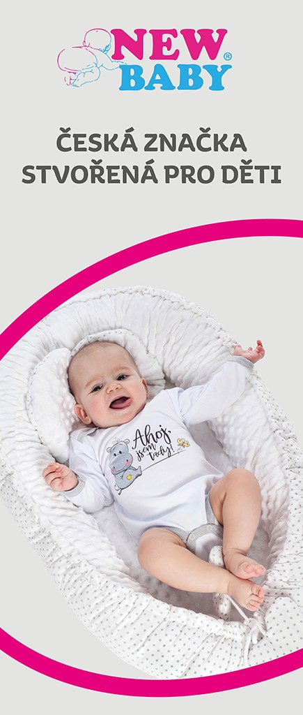 Reklamní Roll-up banner New Baby