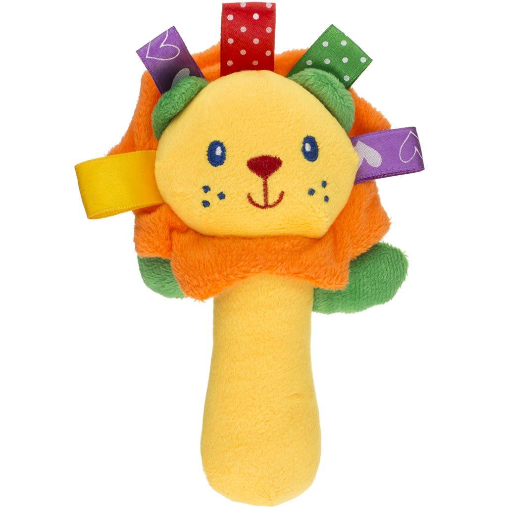 Plyšová hračka s pískátkem Akuku lev