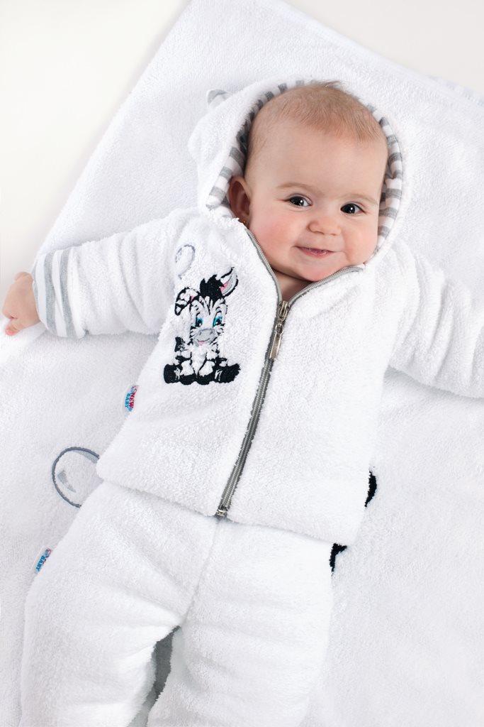 Luxusní dětská zimní deka New Baby Zebra 110x90 cm