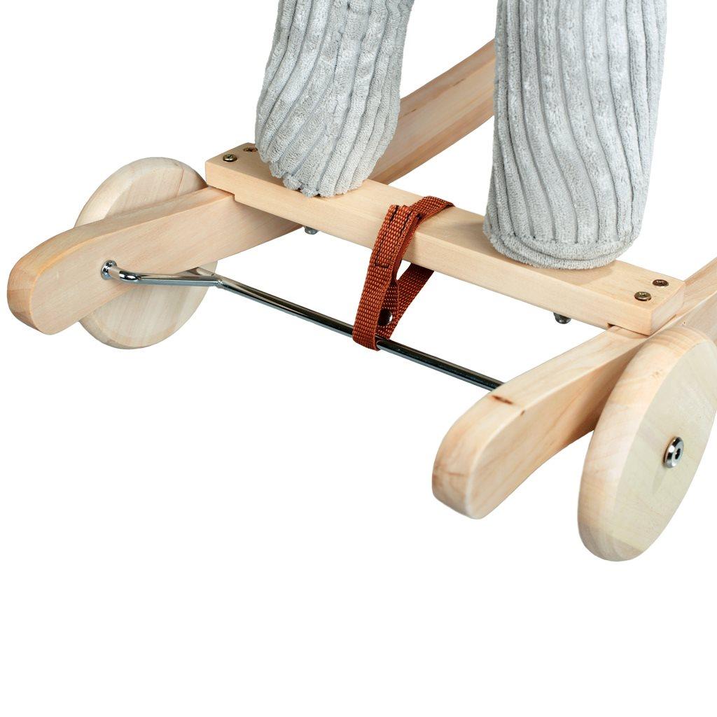 Houpací koník s kolečky PlayTo