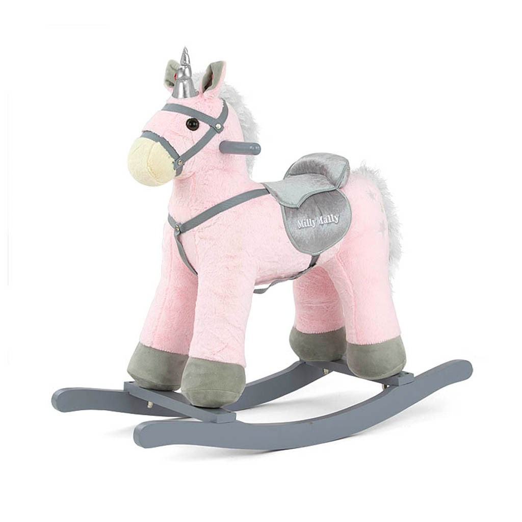 Houpací koník Milly Mally PePe růžový