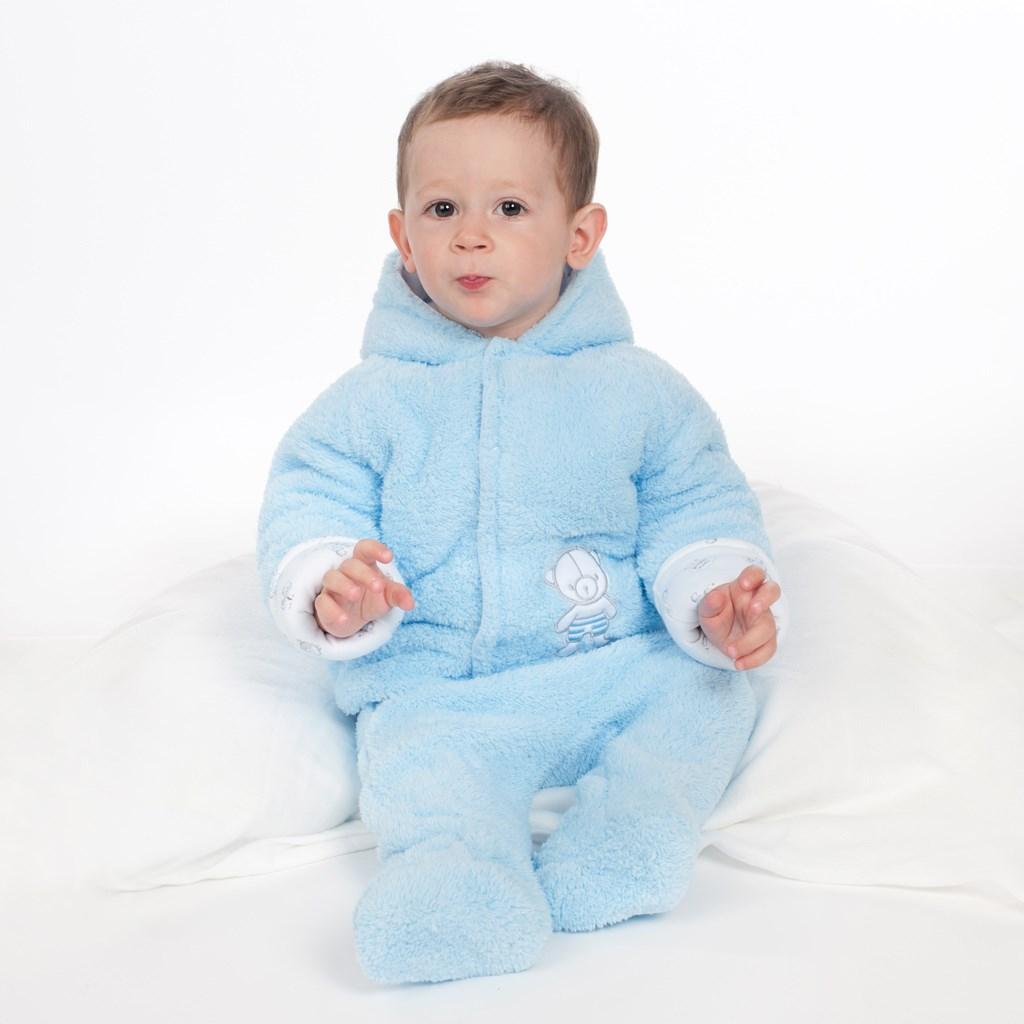 Zimní kombinézka New Baby Nice Bear modrá-62 (3-6m)