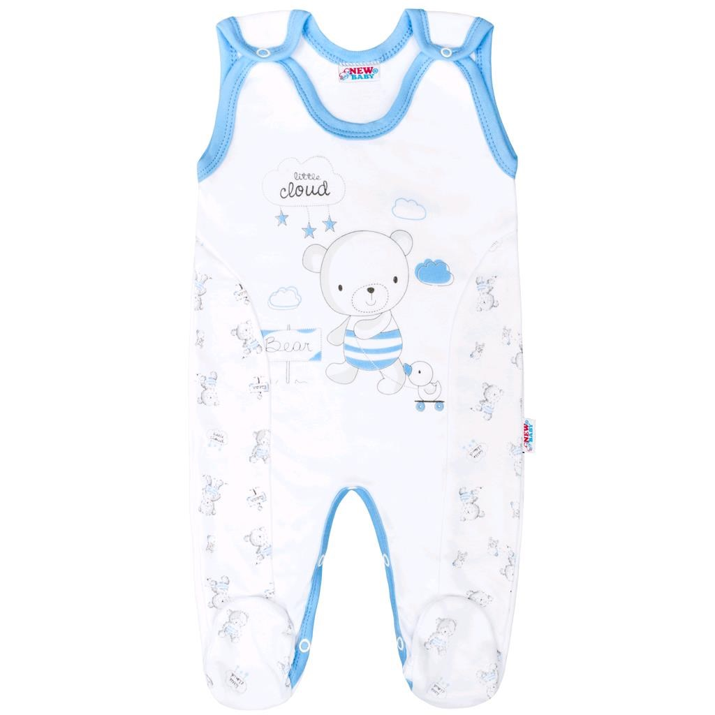 Kojenecké dupačky New Baby Bears modré, Velikost: 62 (3-6m)
