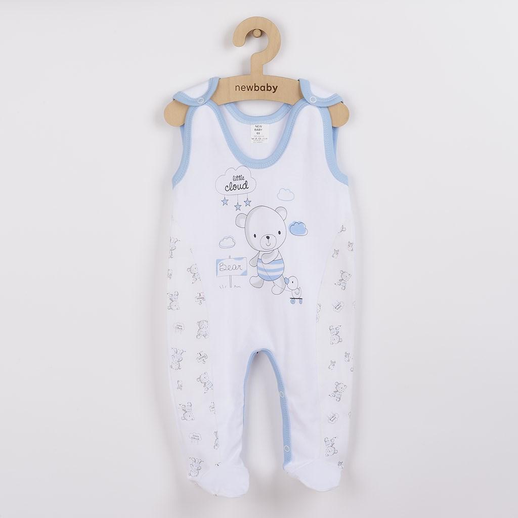 Kojenecké dupačky New Baby Bears modré vel. 74 (6-9m)