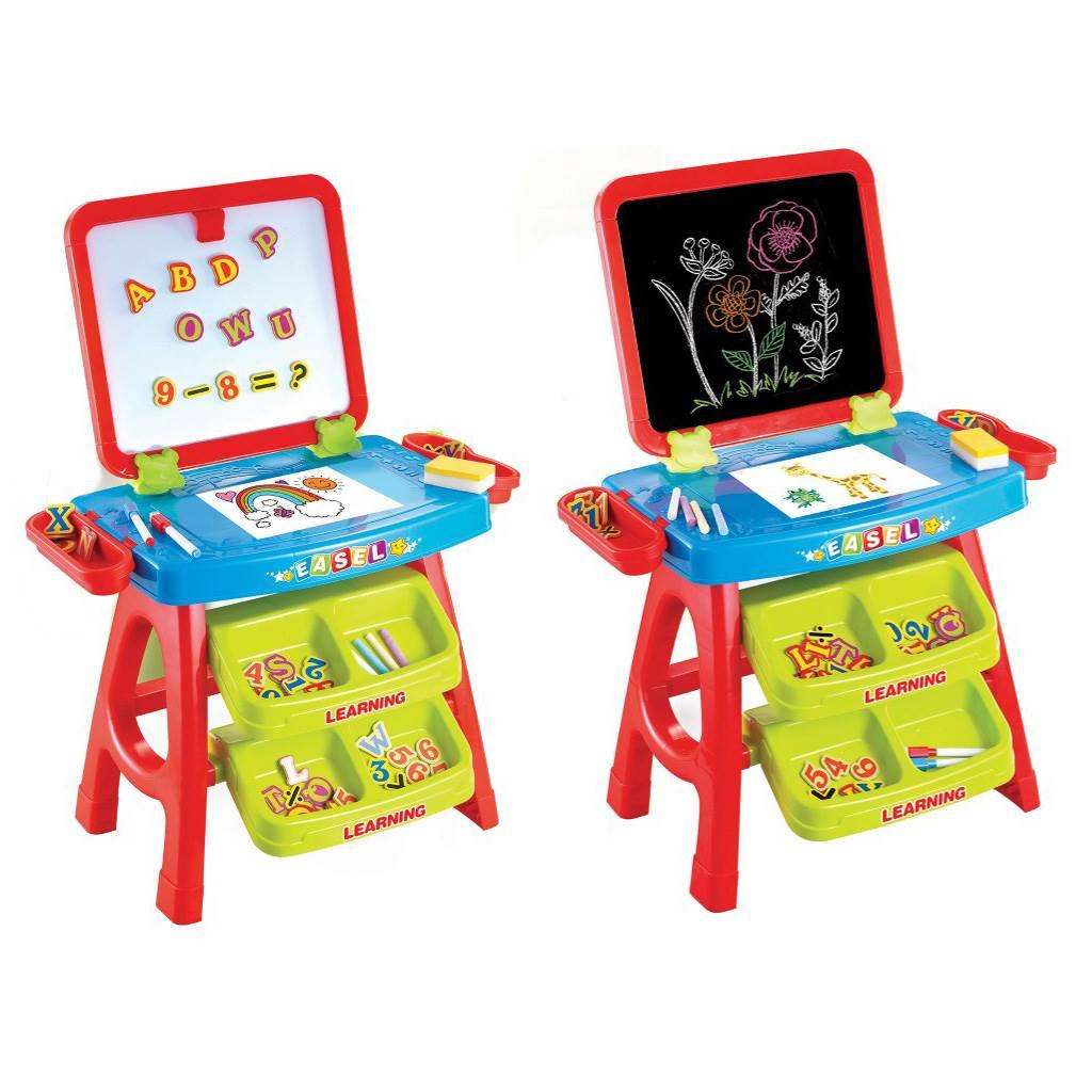 Dětská edukační magnetická tabule 3v1 Baby Mix