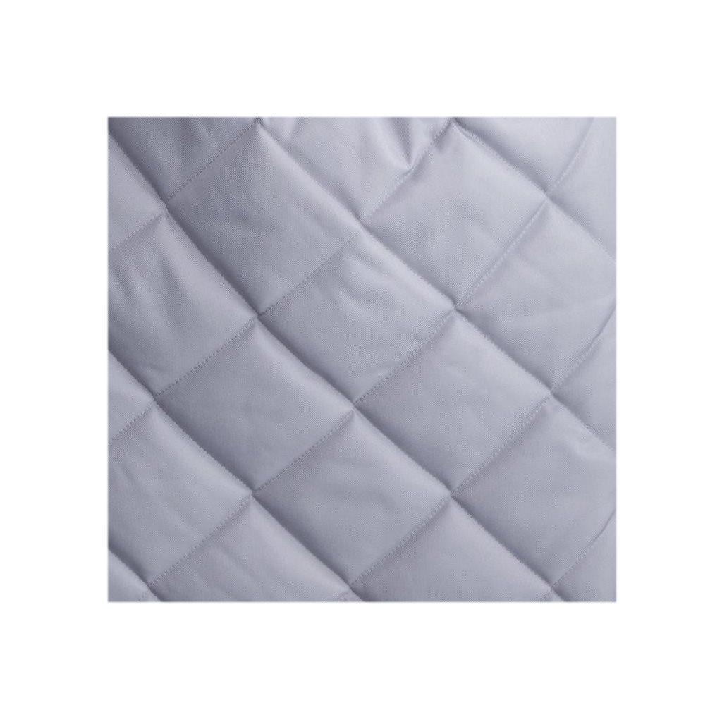 Luxusní fusák Belisima prošívaný světle šedý