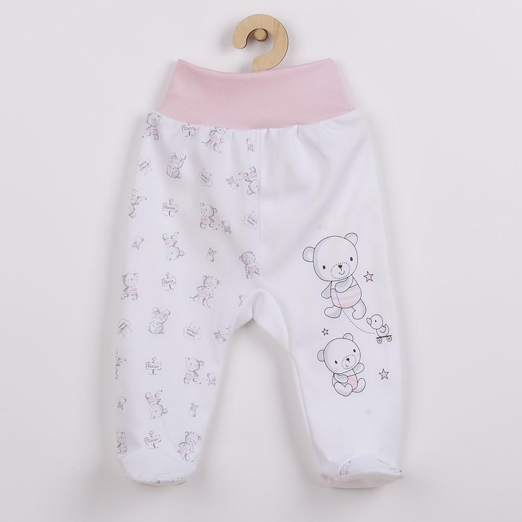 Kojenecké polodupačky New Baby Bears růžové vel. 74 (6-9m)