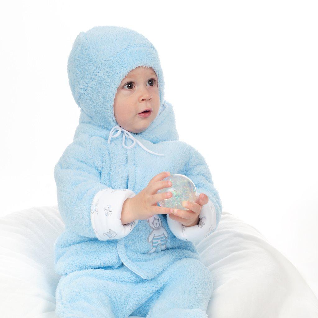 Zimní čepička New Baby Nice Bear modrá