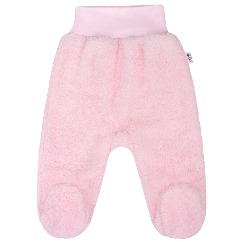 Zimní polodupačky New Baby Nice Bear růžové, Velikost: 56 (0-3m)