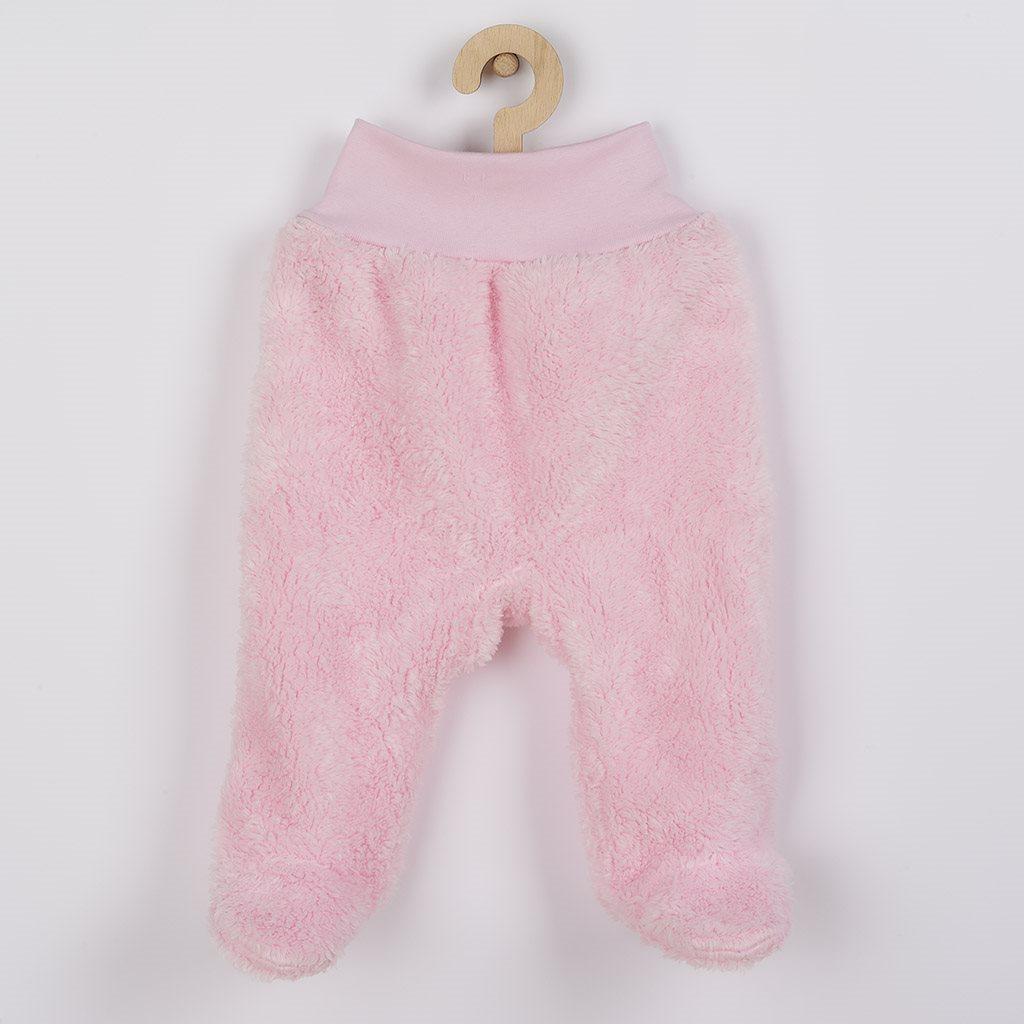 Zimní polodupačky New Baby Nice Bear růžové, Velikost: 74 (6-9m)