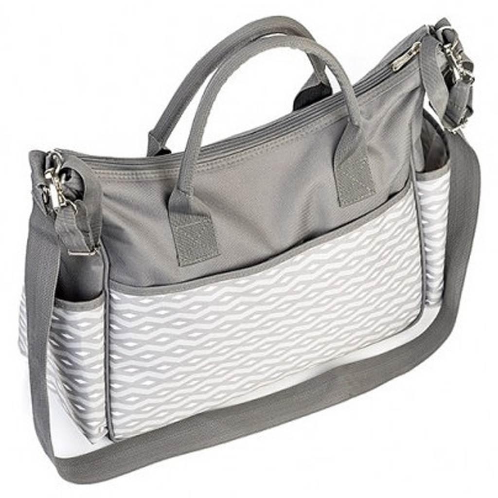 Stylová taška na kočárek BASIC SO CITY Baby Ono světle šedá