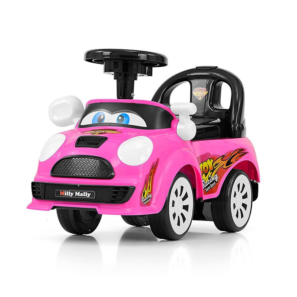 Dětské jezdítko se zvukem Milly Mally JOY pink