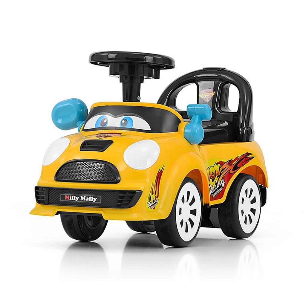Dětské jezdítko se zvukem Milly Mally JOY yellow