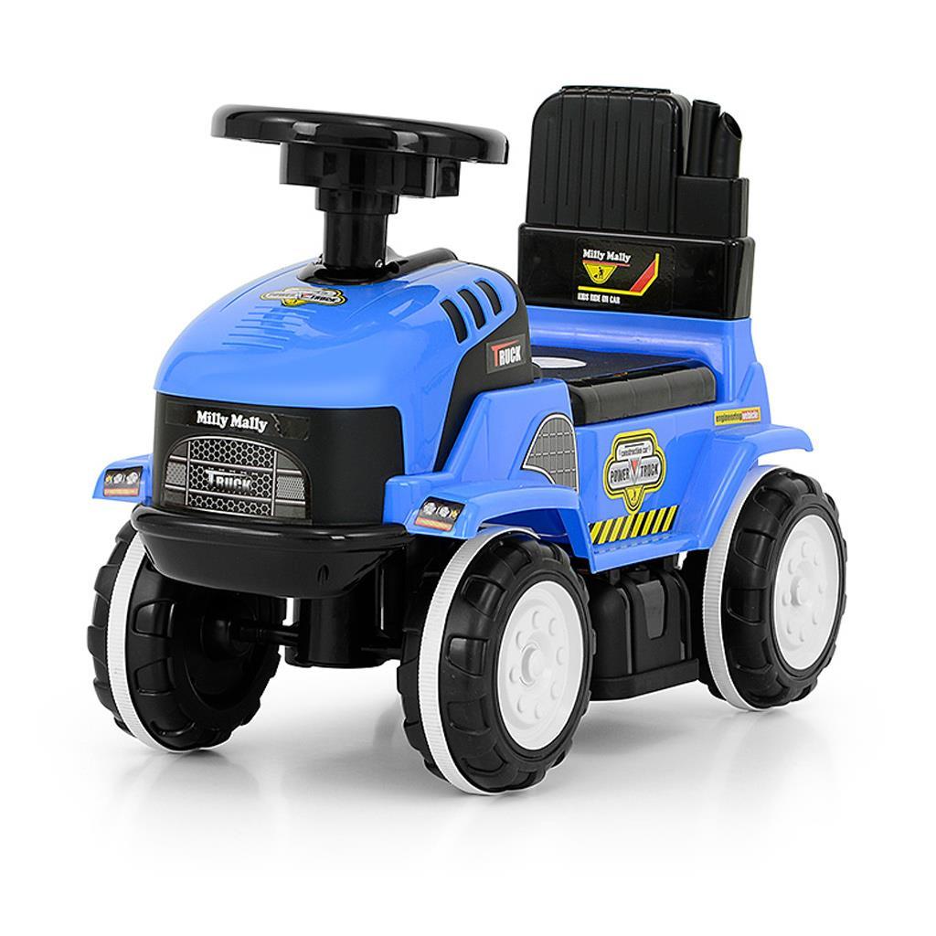 Dětské jezdítko se zvukem Milly Mally ROLLY blue