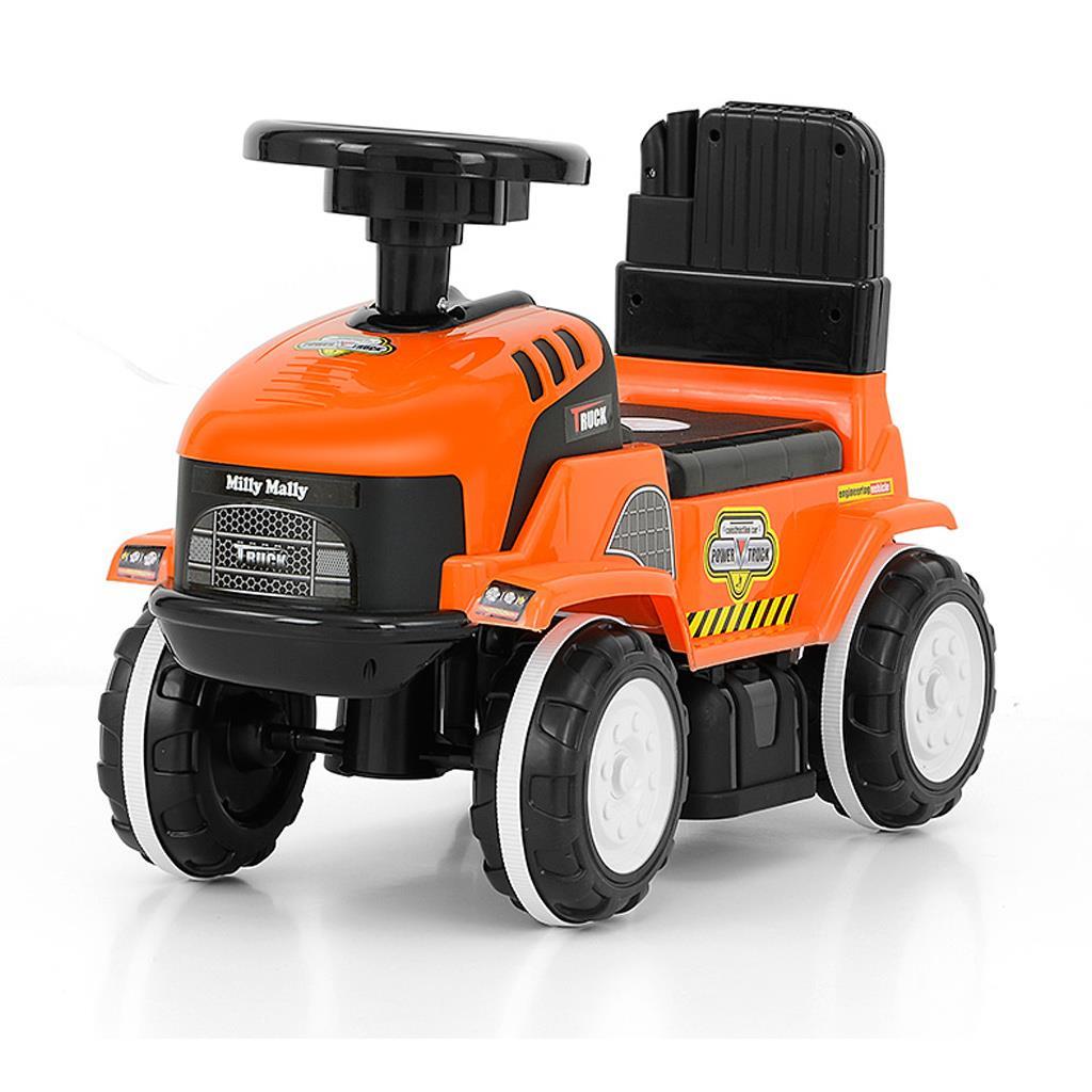 Dětské jezdítko se zvukem Milly Mally ROLLY orange