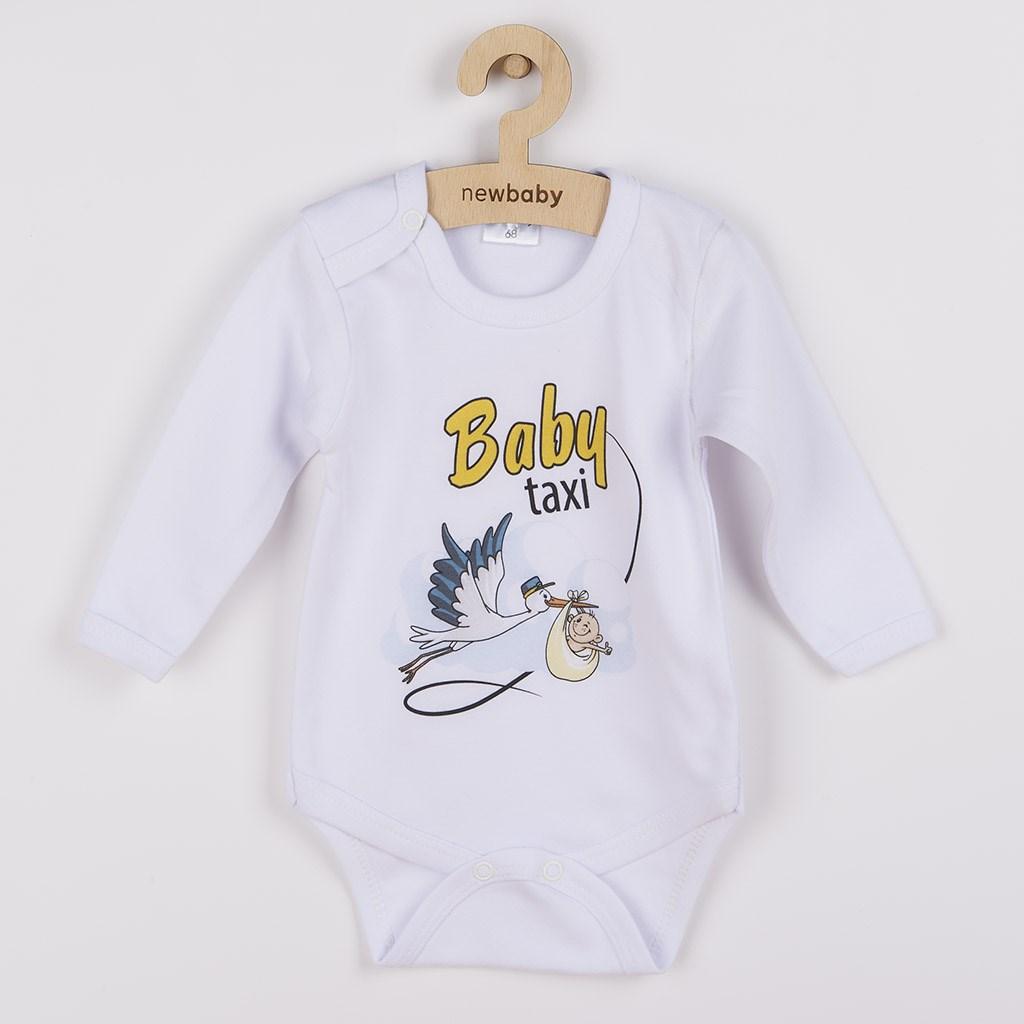 Body s potiskem New Baby Baby taxi, Velikost: 62 (3-6m)