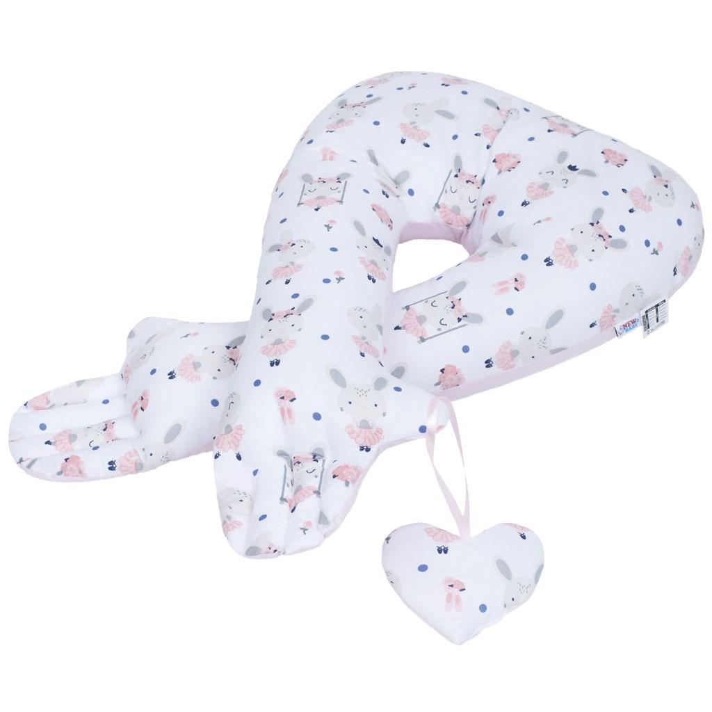 Multifunkční stabilizační polštářek New Baby králíček