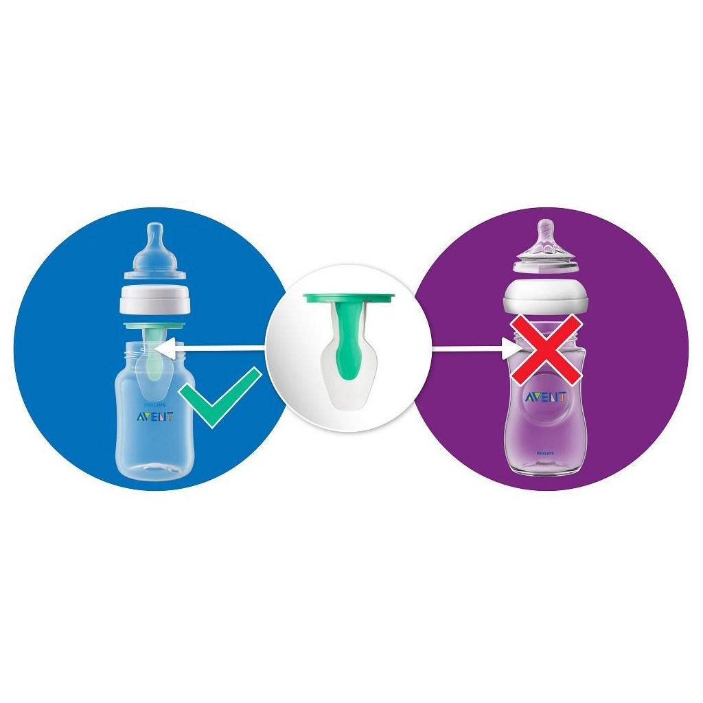 Kojenecká láhev Avent Anti-colic s ventilem AirFree 125 ml