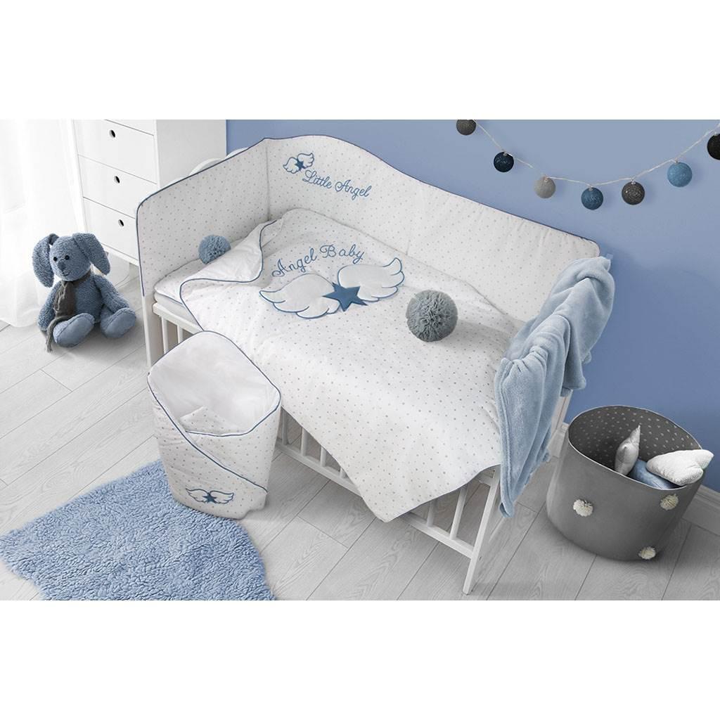 Zavinovačka s výztuží Belisima Angel Baby modrá