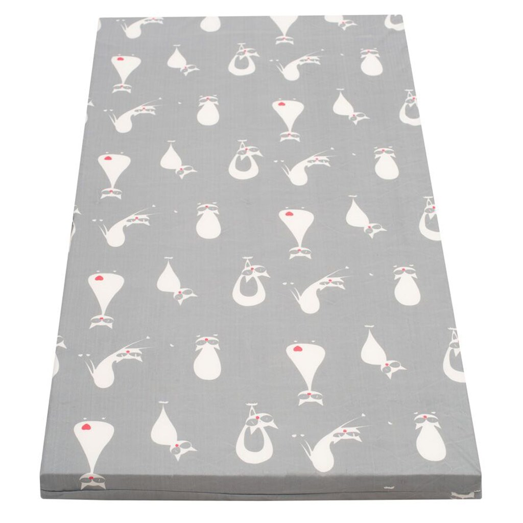 Dětská pěnová matrace šedá - různé obrázky