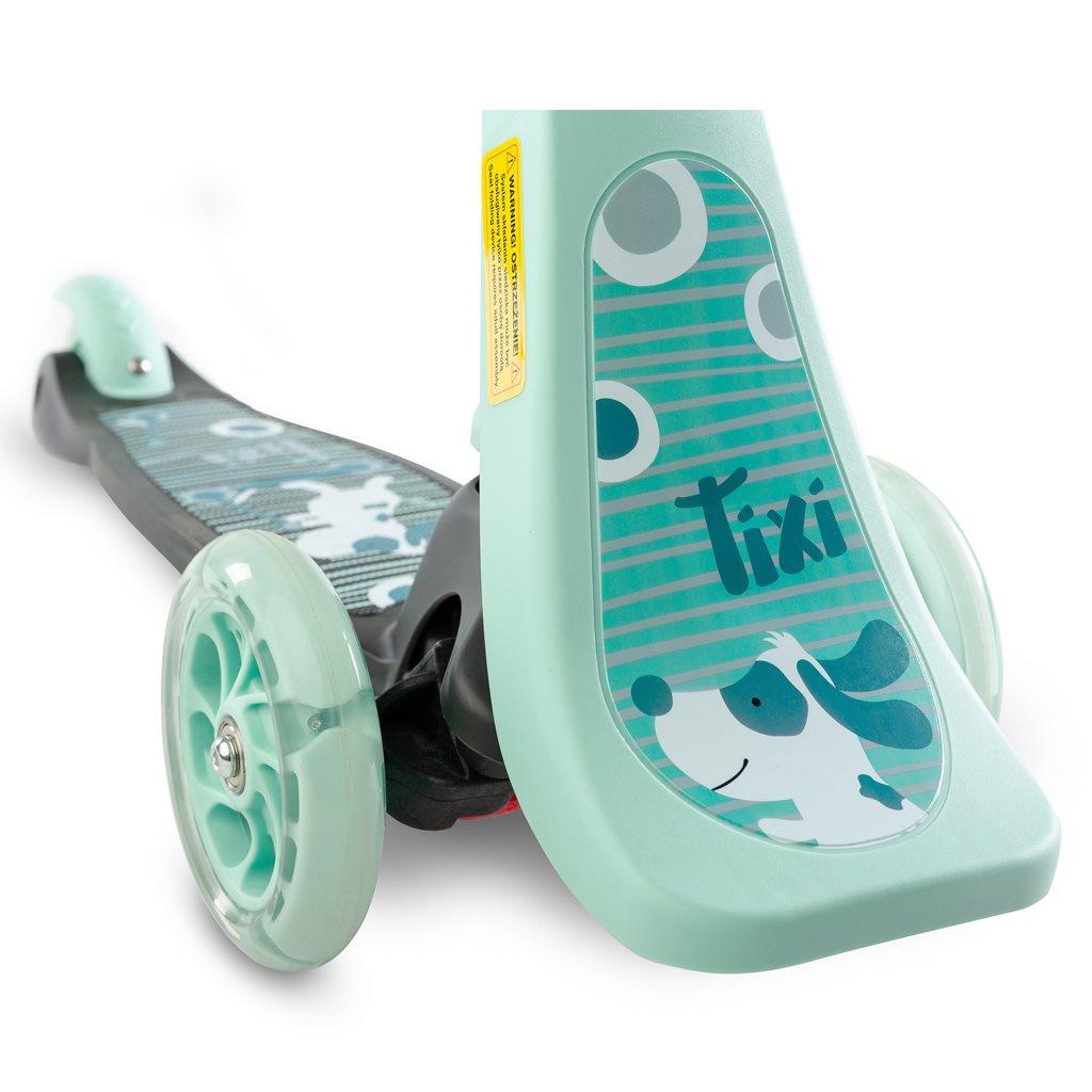 Dětská koloběžka Toyz Tixi mint