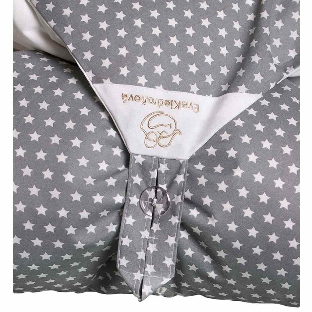 Povlak šedý s hvězdičkami na zavinovačku Dráček