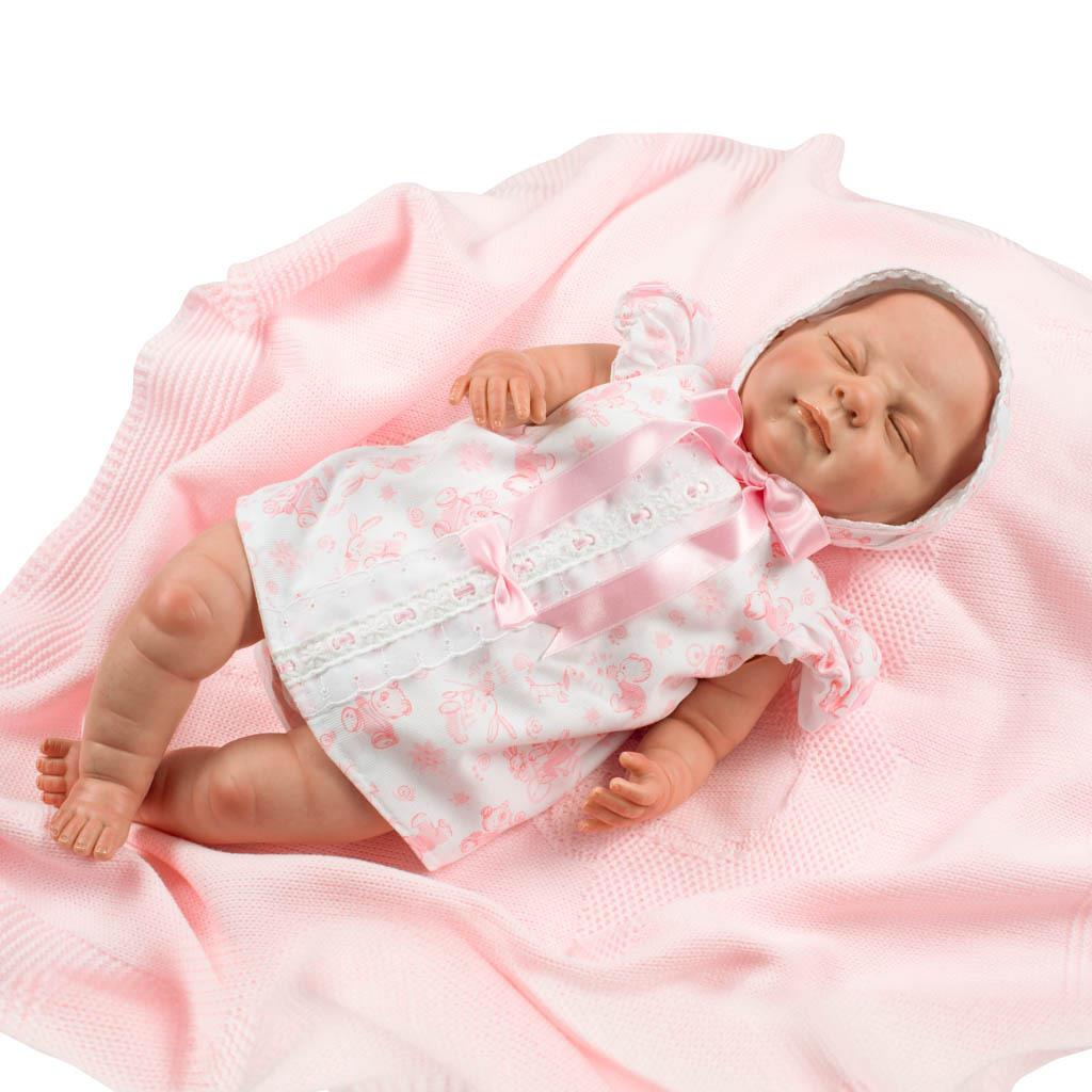 Realistická panenka Berbesa Markétka 50cm