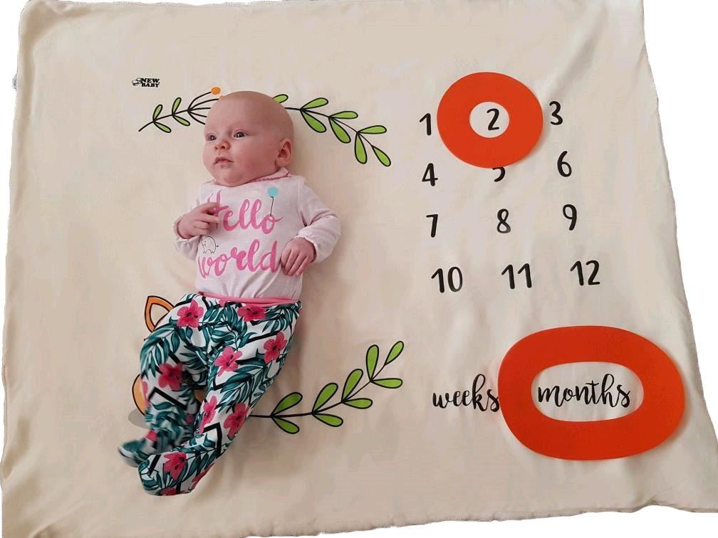 Multifunkční deka New Baby smetanová
