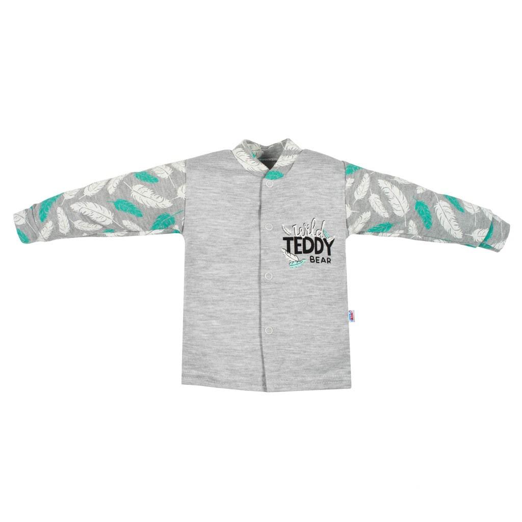 Kojenecký bavlněný kabátek New Baby Wild Teddy, 68 (4-6m)