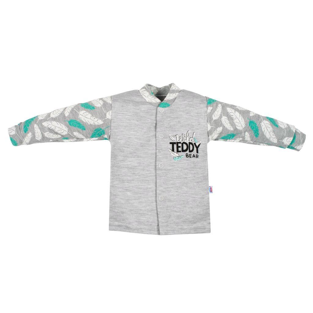 Kojenecký bavlněný kabátek New Baby Wild Teddy-80 (9-12m)