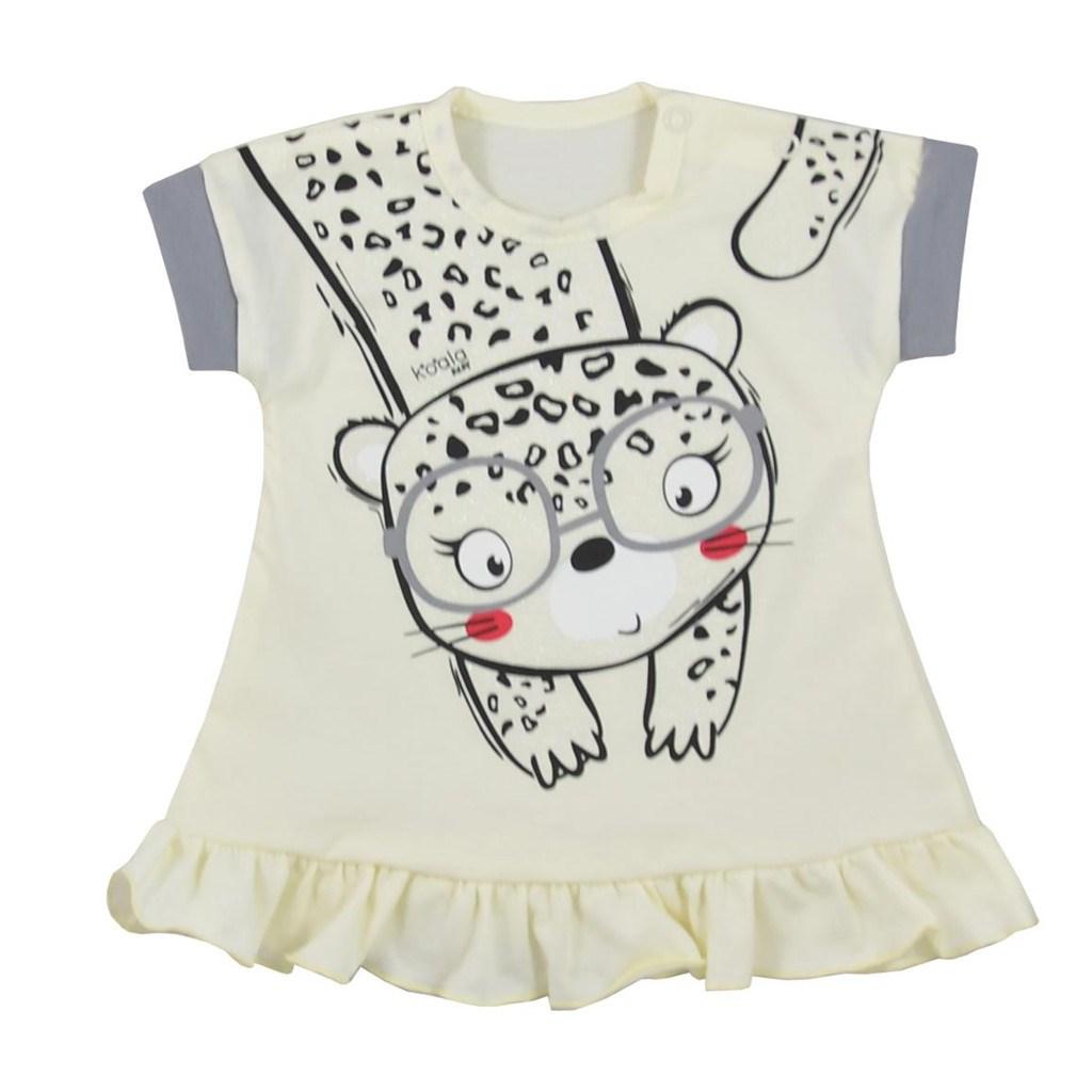 Kojenecké letní šaty Koala Sara béžové vel. 62 (3-6m)
