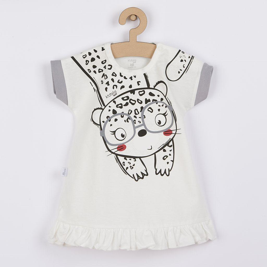 Kojenecké letní šaty Koala Sara béžové vel. 80 (9-12m)