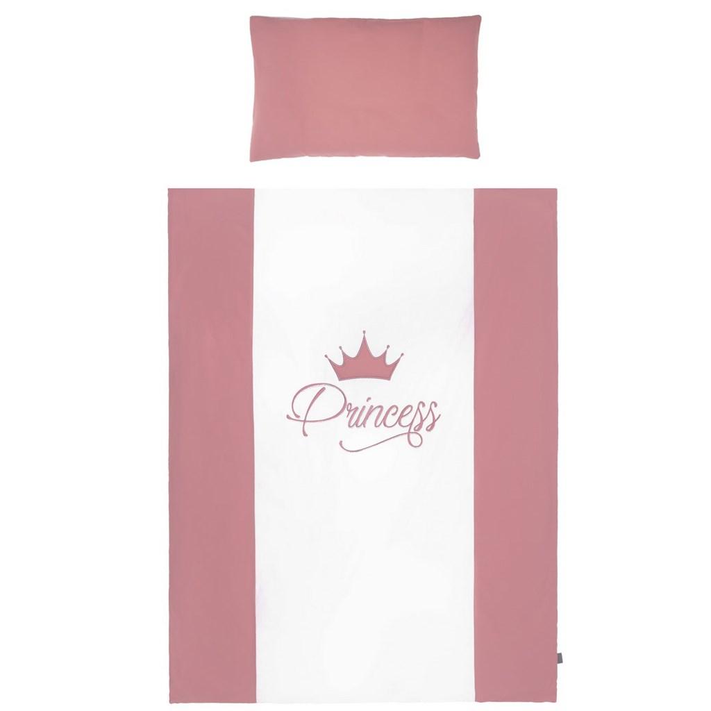 3-dílné ložní povlečení Belisima Royal Baby 100/135 růžové