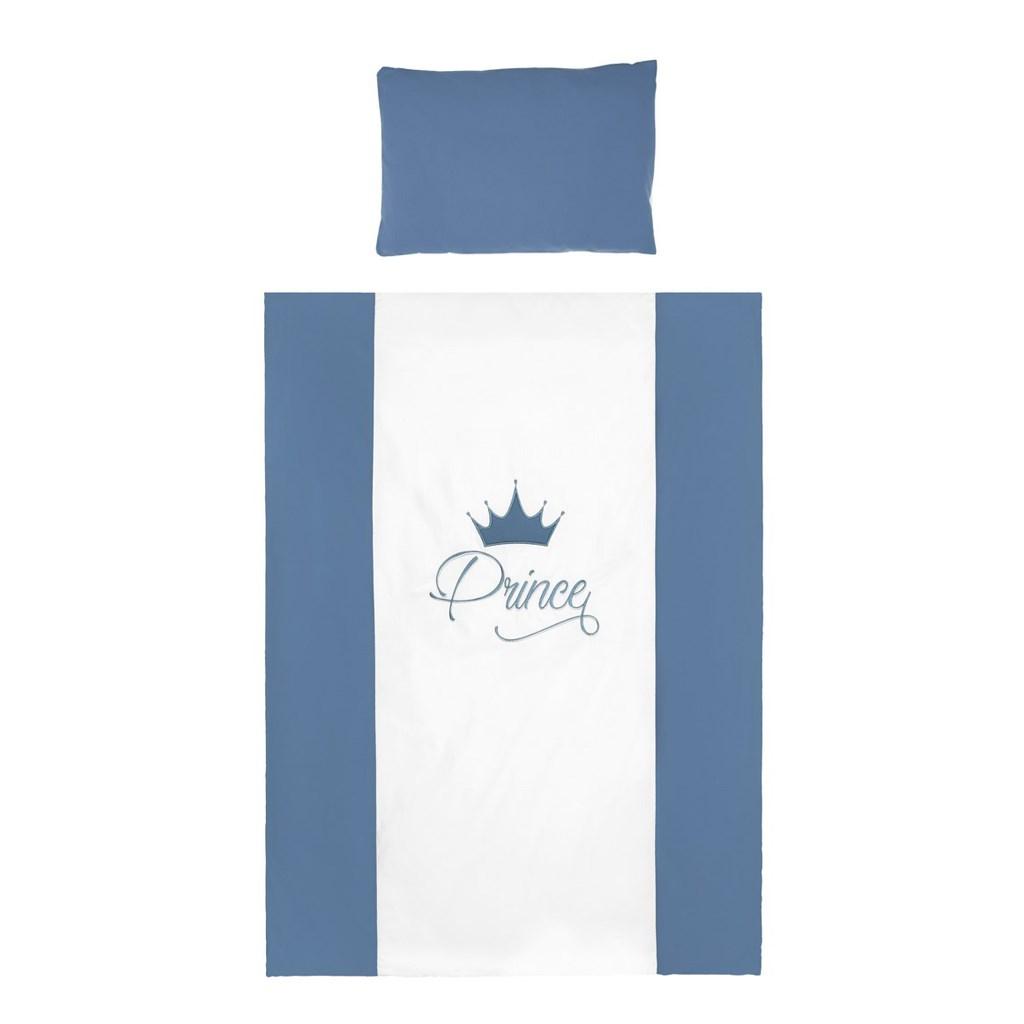 3-dílné ložní povlečení Belisima Royal Baby 100/135 modré