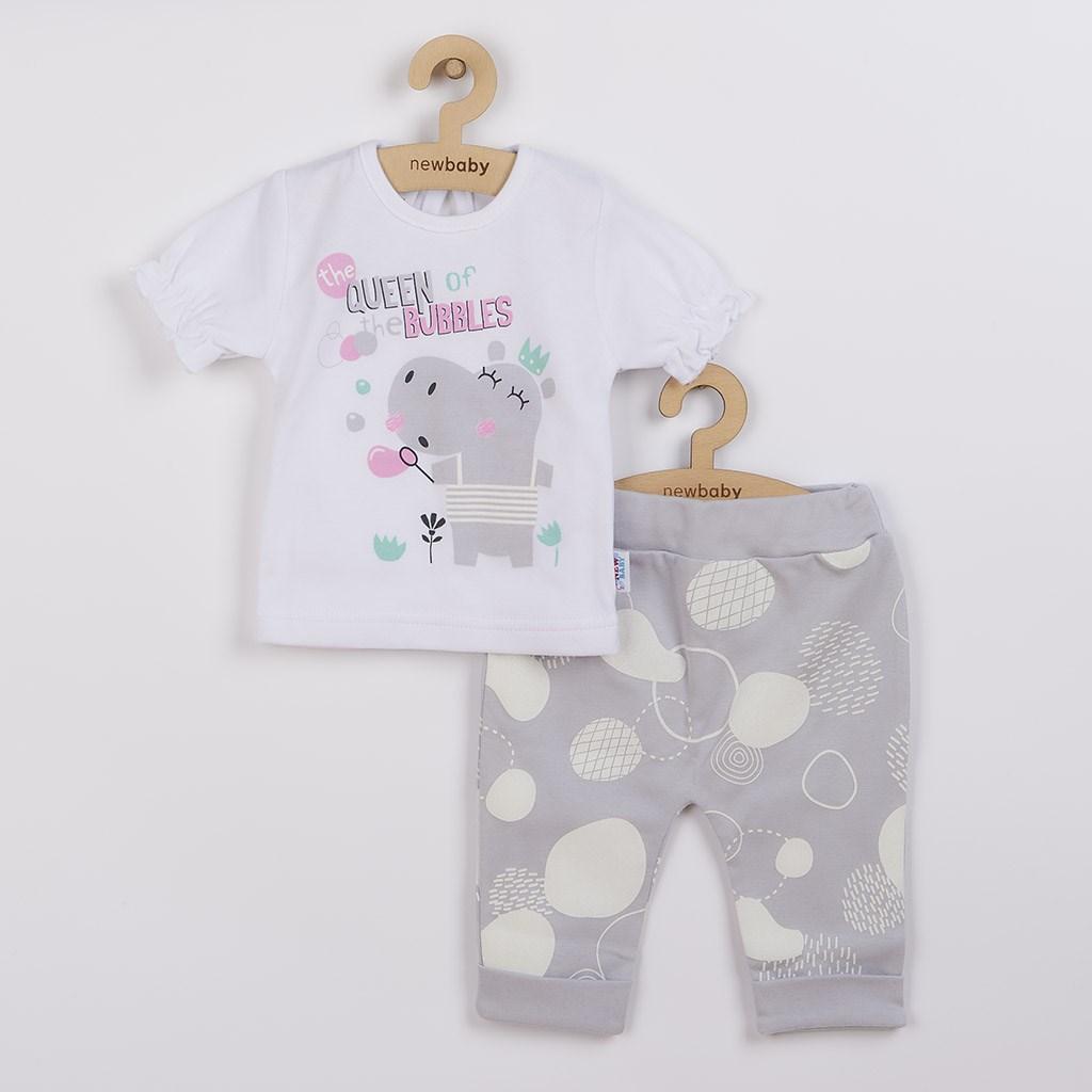 Kojenecké tričko s krátkým rukávem a tepláčky New Baby Queen vel. 68 (4-6m)